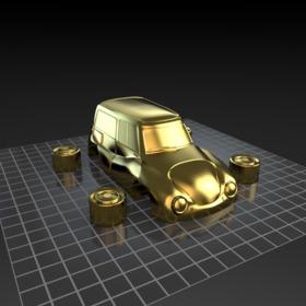 小汽车模型